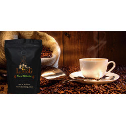 "Liondog Coffee "" DARK WHEATEN"""